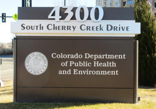 Colorado Dept. Public Health